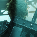 cloud's back from the ff7 trailer
