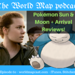 amy adams and snorlax grace the cover art for this episode